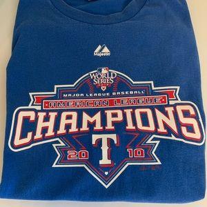 American League Champions Texas Rangers 2010
